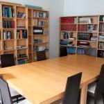 Oficina del peregrino biblioteca