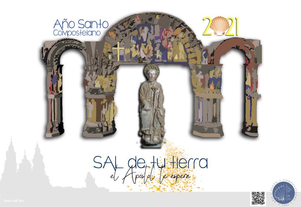 Página web del Año Santo Compostelano 2021.